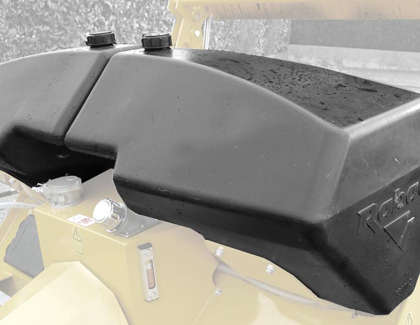 Arrosage par pression - 2 cuves de 150 L
