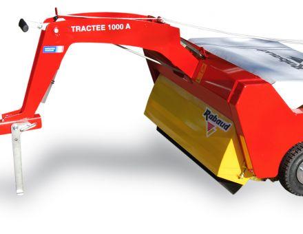 Balayeuse TRACTEE 1000A avec Bac standard