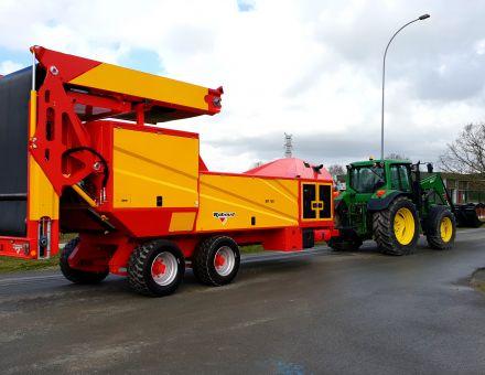 Broyeur de compost rapide BR180 au transport