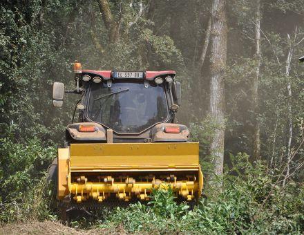 Broyage forestier avec le XYLOR 2200-125 T