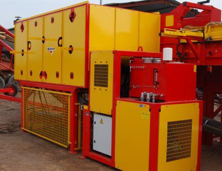 Centrale électrique 35 Kw