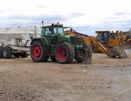 Stabilisation des sols sur autoroute