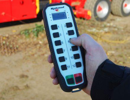 Télécommande broyeur rapide BR180