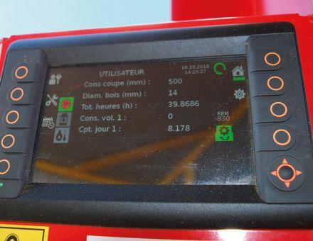 XYLOMETER® : Système automatisé pour cuber du volume de bois produit