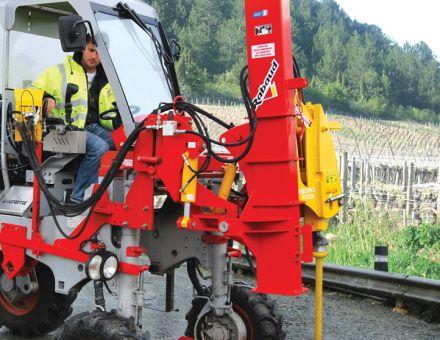 Enfonce-pieux viticole sur STILTOR