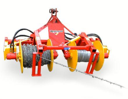 Enrouleuses/Dérouleuses de fils de clôture 2 bobines