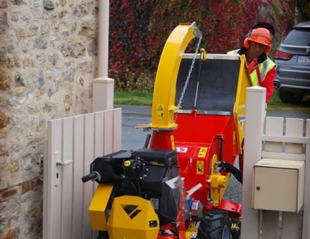 ULTRA COMPACT - 83 cm -pour accéder sur tous les chantiers