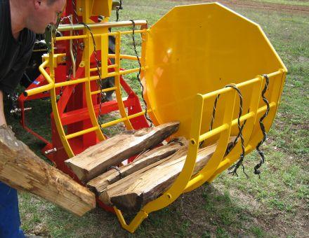 Mise en place des bois dans l'arceaux