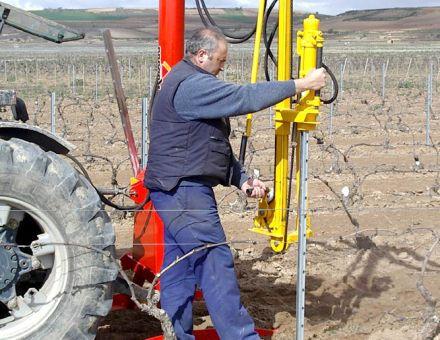 VIBRESCOPIC 150 - Enfonce-pieux viticole