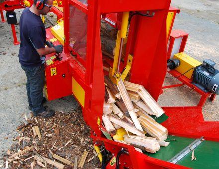 Canal d'évacuation des bois