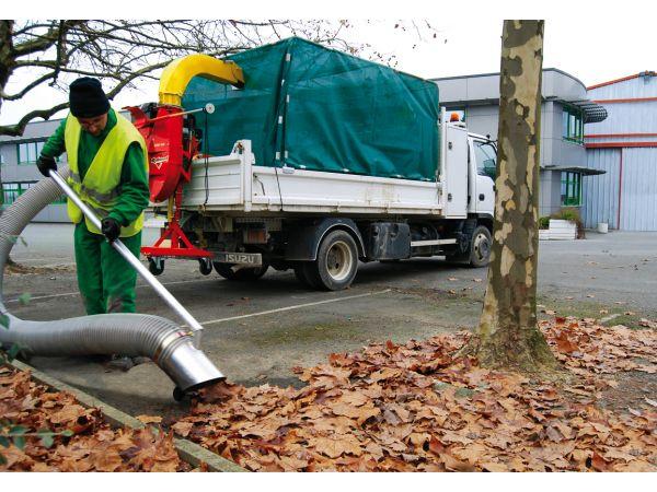 Kit habillage de benne pour aspirateur de feuilles