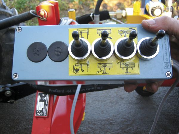 Commande électro-hydraulique