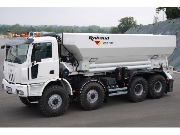 ETS 319 avec cuve de 19 m³ monté sur votre porteur