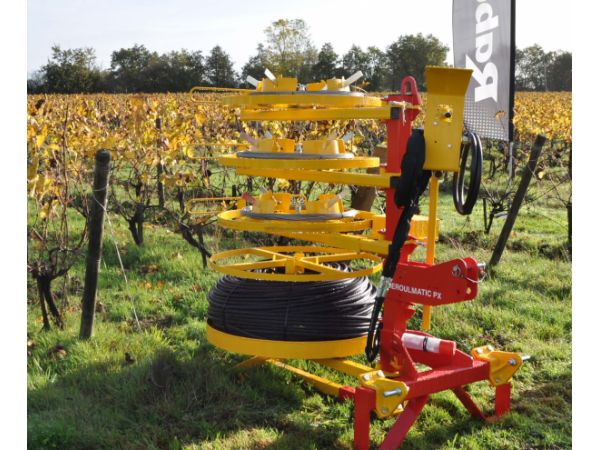 Dérouleuse viticole de fils lisses DEROULMATIC