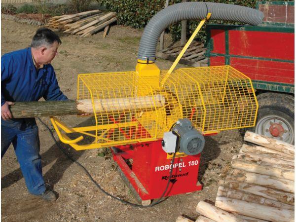 Ecorceuse de piquets ROBOPEL 150 avec moteur électrique