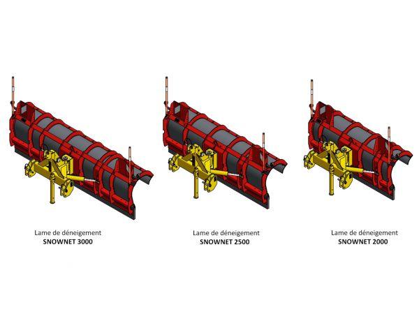 3 modèles : 2 m / 2,50 m / 3 m