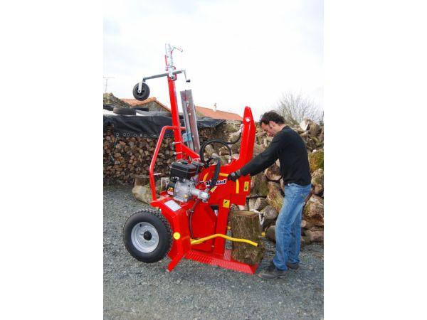 Fendeur de bois thermique 12 tonnes