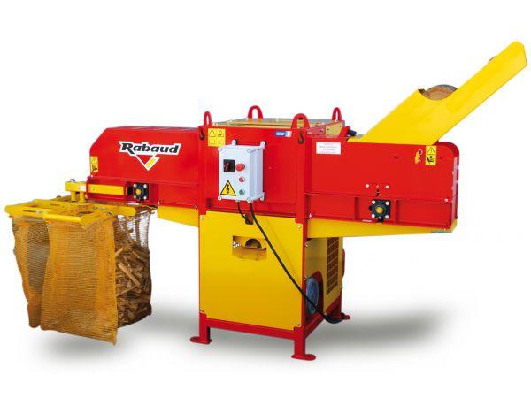 Machine à buchette allume-feu détourée