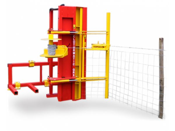MACHINE A POSER LES GRILLAGES : CLOTURMATIC GRX
