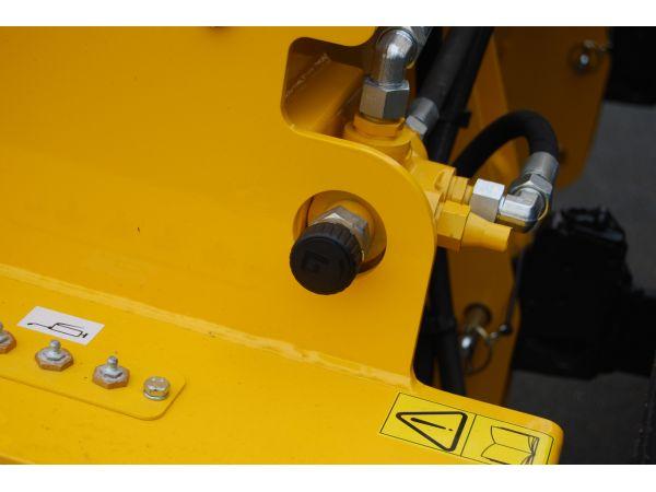 Régulateur d'épandage hydraulique et Graissage déporté