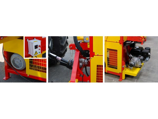 Entrainement électrique, thermique ou Tracteur