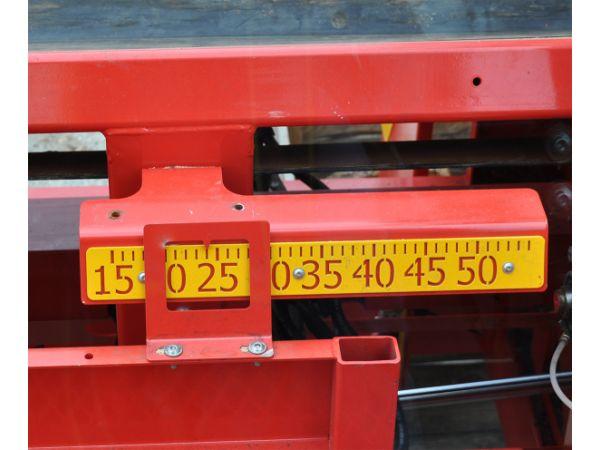 Réglage de la longueur de coupe de 200 à 500 mm