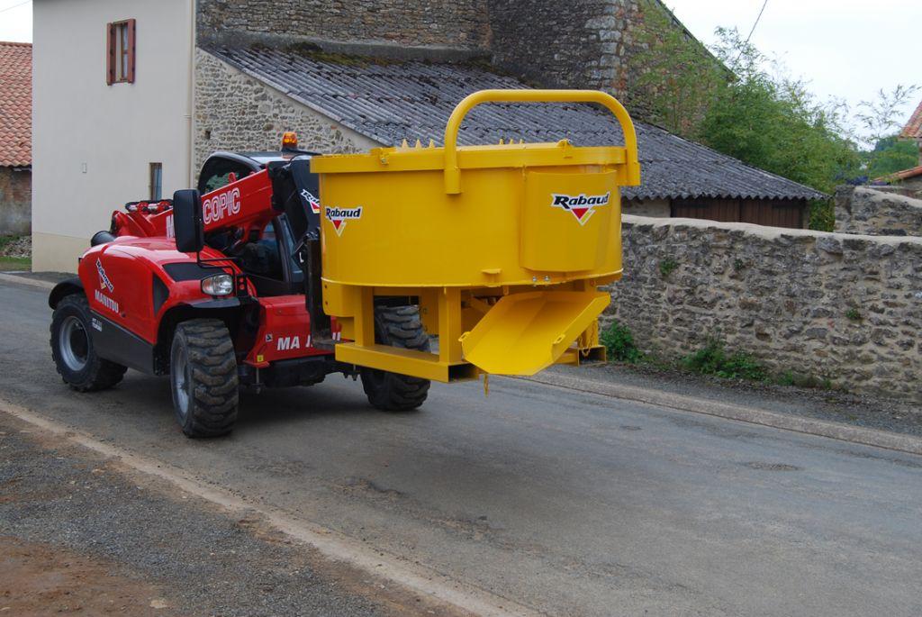 Moteur hydraulique (option)