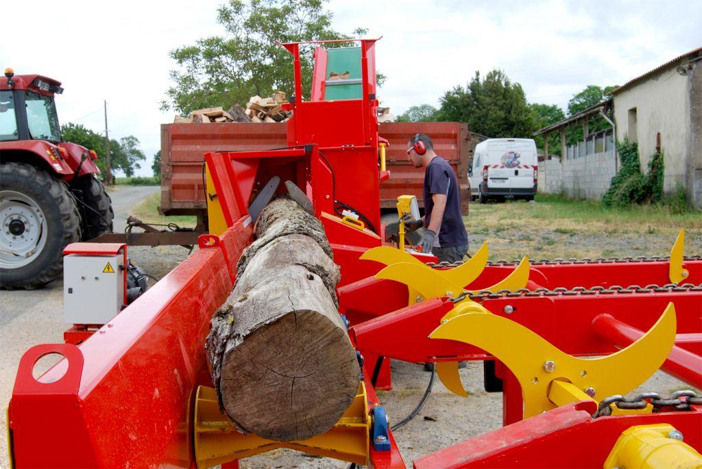 RABAUD - XYLOG 420 pour la production de bois bûches