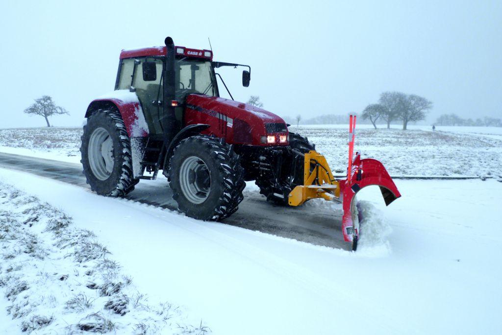 SNOWNET avec interface pour chargeuse