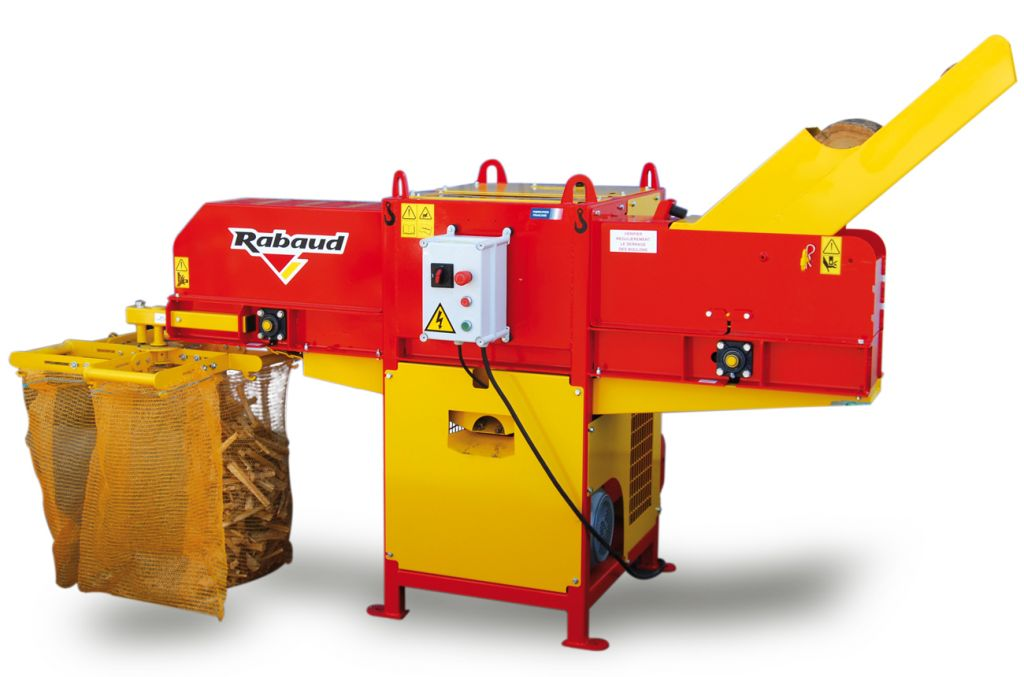 Machine pour production d'allume feu XYLOFLAM