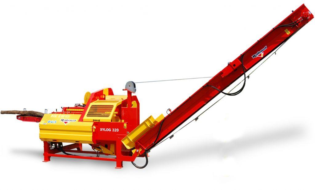 Xylog 320 avec deck de 5 m détouré
