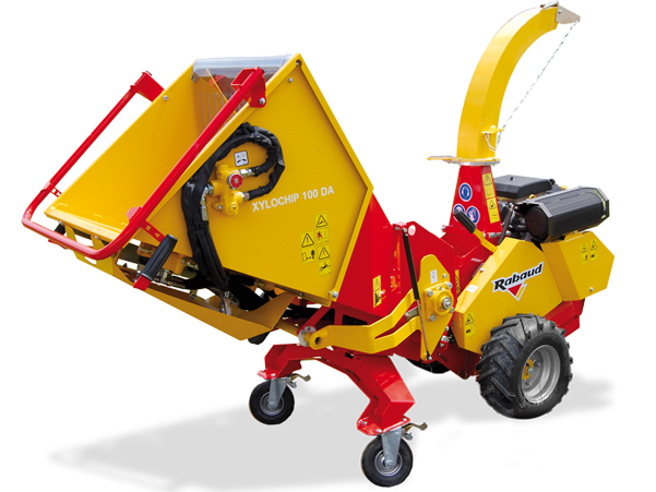 Wood chipper self propelled XYLOCHIP 100DA